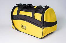"""Спортивная сумка """"TWIST"""" (желтая), фото 3"""