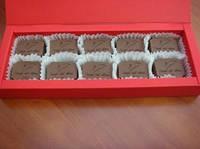 Подарочная коробка с Вашими индивидуальными конфетами