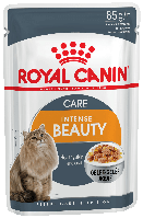 Royal Canin INTENSE BEAUTY in Jelly - консервы для кошек для красоты шерсти (кусочки в желе), 85г