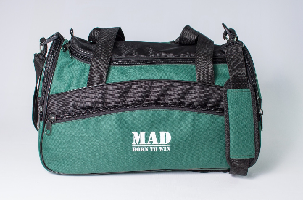 "Спортивная сумка ""TWIST"" (зеленая)"