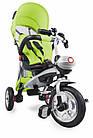 Велосипед-коляска трехколесный Lionelo TIM PLUS Green, фото 3