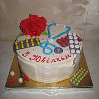 Торт на юбилей для врача