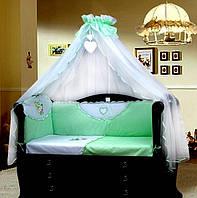 Набор постельного белья для детской кроватки Мотылек Greta