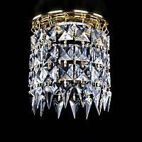 Точечный хрустальный светильник SPOT 12 ArtGlass