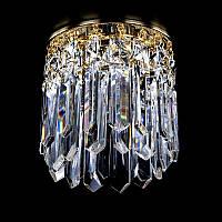 Точечный хрустальный светильник SPOT 13 ArtGlass