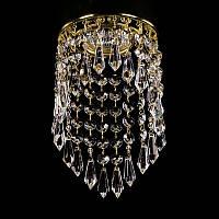 Точечный хрустальный светильник SPOT 04 ArtGlass