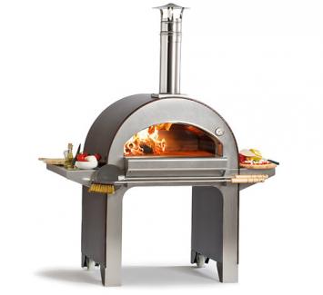 Печь для пиццы на дровах  Alfa Pizza 4PIZZE BBQ