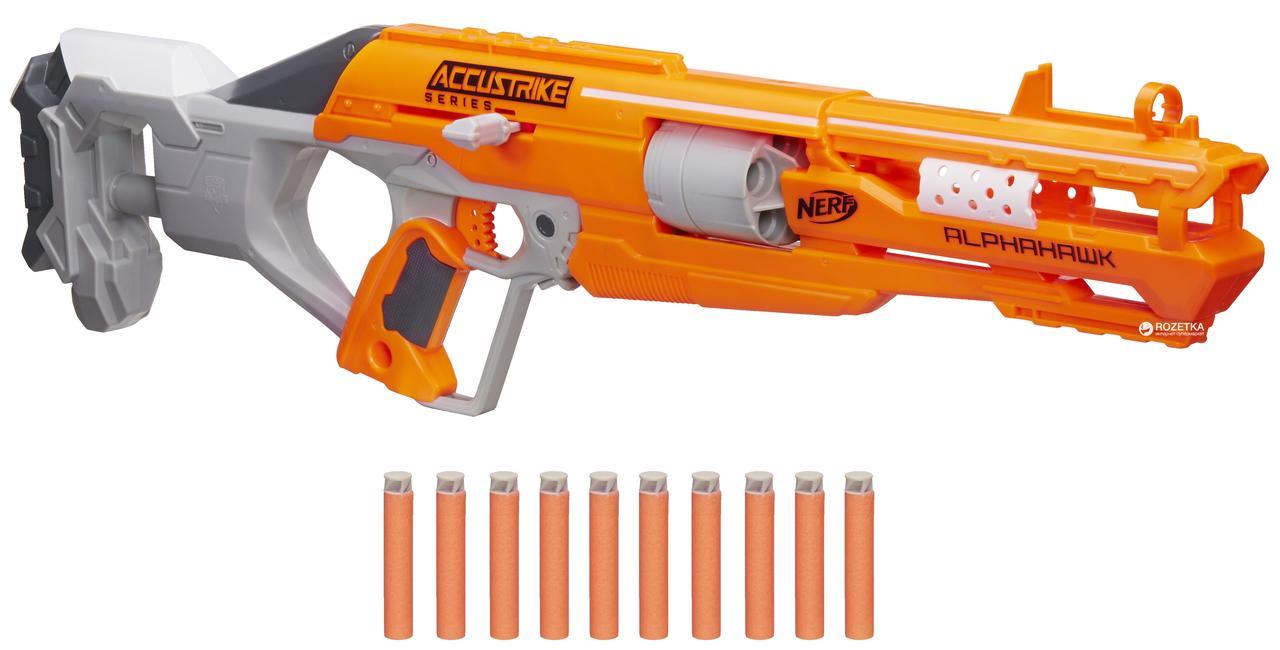 Бластер Гвинтівка Nerf Elite AlphaHawk Hasbro B7784