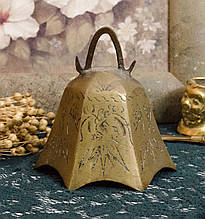 Антикварний бронзовий дзвіночок, бронза, Індія?