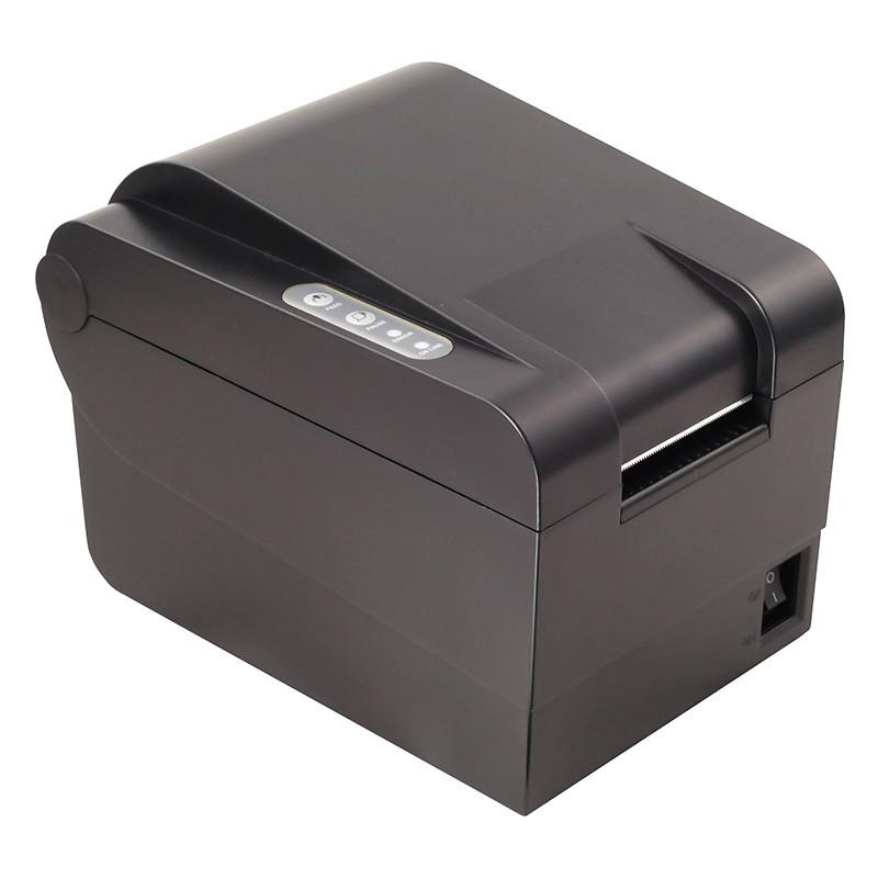Термопринтер Xprinter XP-235B принтер этикеток, наклеек, штрих-кода 58мм