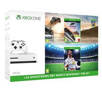 XBOX ONE 500GB S+Forza Horizon 3 Hot Wheels, FIFA 18+XBL 6 мес.