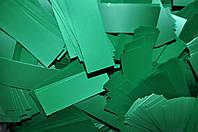 Конфетти для праздника - Метафан зеленый двухсторонний матовый с лаковым блеском
