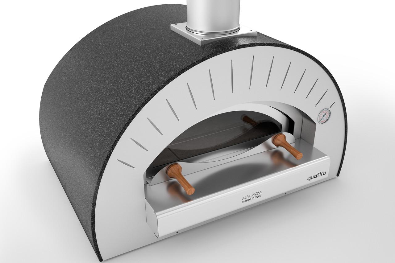 Печь для пиццы на дровах  (без подставки) Alfa Pizza QUATTRO PRO TOP