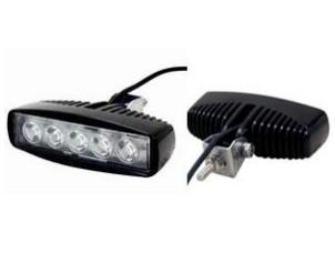 Дополнительная светодиодная фара Allpin 15W,  5 диодов по 3W (6188F15)