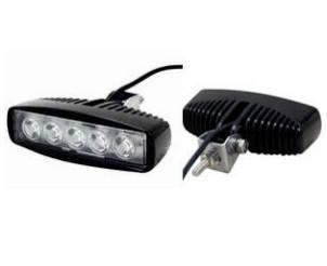 Дополнительная светодиодная фара Allpin 15W,  5 диодов по 3W (6188F15), фото 2