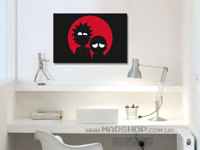 Картины Рик и Морти Rick And Morty
