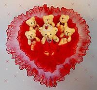 "Букет из мягких игрушек ""Love is..."" к 8 марта, фото 1"