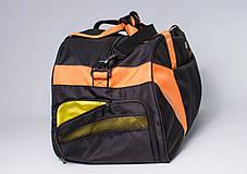 """Спортивная сумка """"CROSS PORTER"""" (черный с оранжевым), фото 2"""