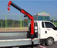 Аренда кран-манипулятора грузоподъемностью 800 кг BOB LIFT