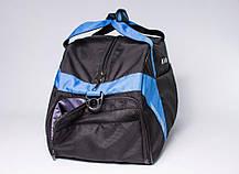 """Спортивная сумка """"CROSS PORTER"""" (черный с синим), фото 3"""