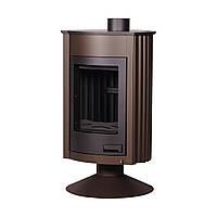 Отопительная печь-камин длительного горения Masterflamme Medie II (коричневый вельвет)