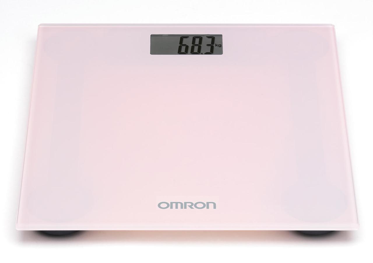 Персональні цифрові ваги Omron HN-289 (HN-289-ЕРК) - Рожеві