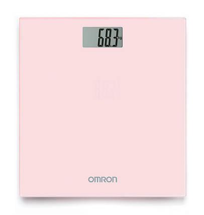 Персональні цифрові ваги Omron HN-289 (HN-289-ЕРК) - Рожеві, фото 2