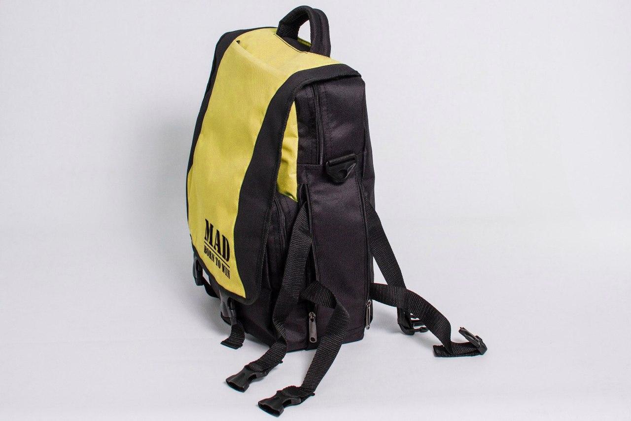 "Сумка - рюкзак ""PACE"" (черно-желтый)"