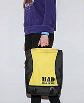 "Сумка - рюкзак ""PACE"" (черно-желтый), фото 2"