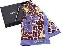 Набор Ungaro: ручка шариковая, платок шелковый «Petali»