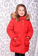 """Детская  зимняя куртка для девочек «Рози"""" Рост-92, 98, 104, 110, 116, 122"""