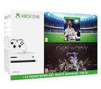 XBOX ONE S 500 Gb+ FIFA 18, Середземномор'я: Тінь Війни + XBL 6 мес.
