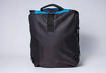 """Сумка - рюкзак """"PACE"""" (черно-бирюзовый), фото 3"""