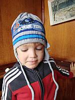 Шапка+шарф для мальчика. Польша . 1-2 годика