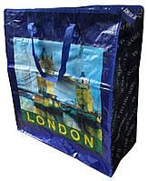 """Сумка хозяйственная """"London"""" 55х50х23 см."""