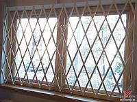 Изготовление раздвижных решеток типа ромб на окна