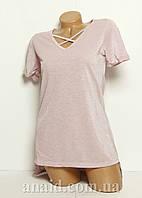 Женская футболка-туника люрекс