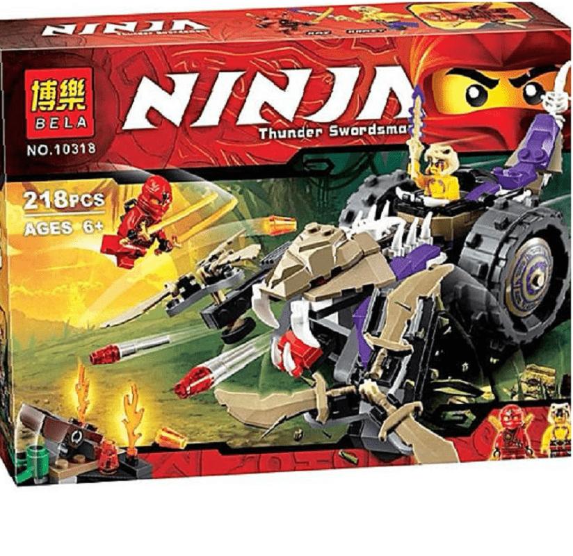 Конструктор Ninjago Кай против Крайта