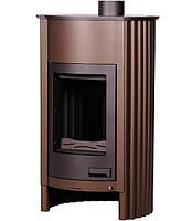 Отопительная печь-камин длительного горения Masterflamme Grande I (коричневый бархат)