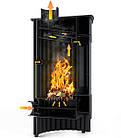 Отопительная печь-камин длительного горения Masterflamme Grande I (коричневый бархат), фото 4