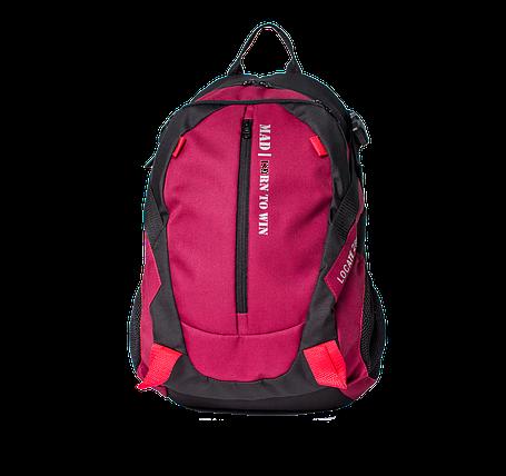 Рюкзак Locate (бордовый), фото 2