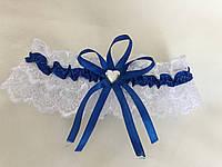 Синяя подвязка дня невесты