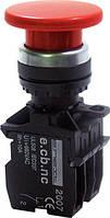 Кнопка E.NEXT e.pb.la.stand.32.y.3.11- грибок стоп; фиксируемый