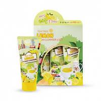 Esfolio Tea Time Lemon Foam Cleanser, Пенка для умывания чай с лимоном 312