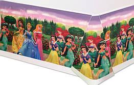 """Скатерть на детский праздник """"Принцессы"""""""