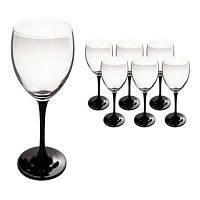 """Бокалы для вина Luminarc """"Домино"""" 6х190мл (J0042/1)"""