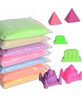 Кинетический песок 500 г. в пакете
