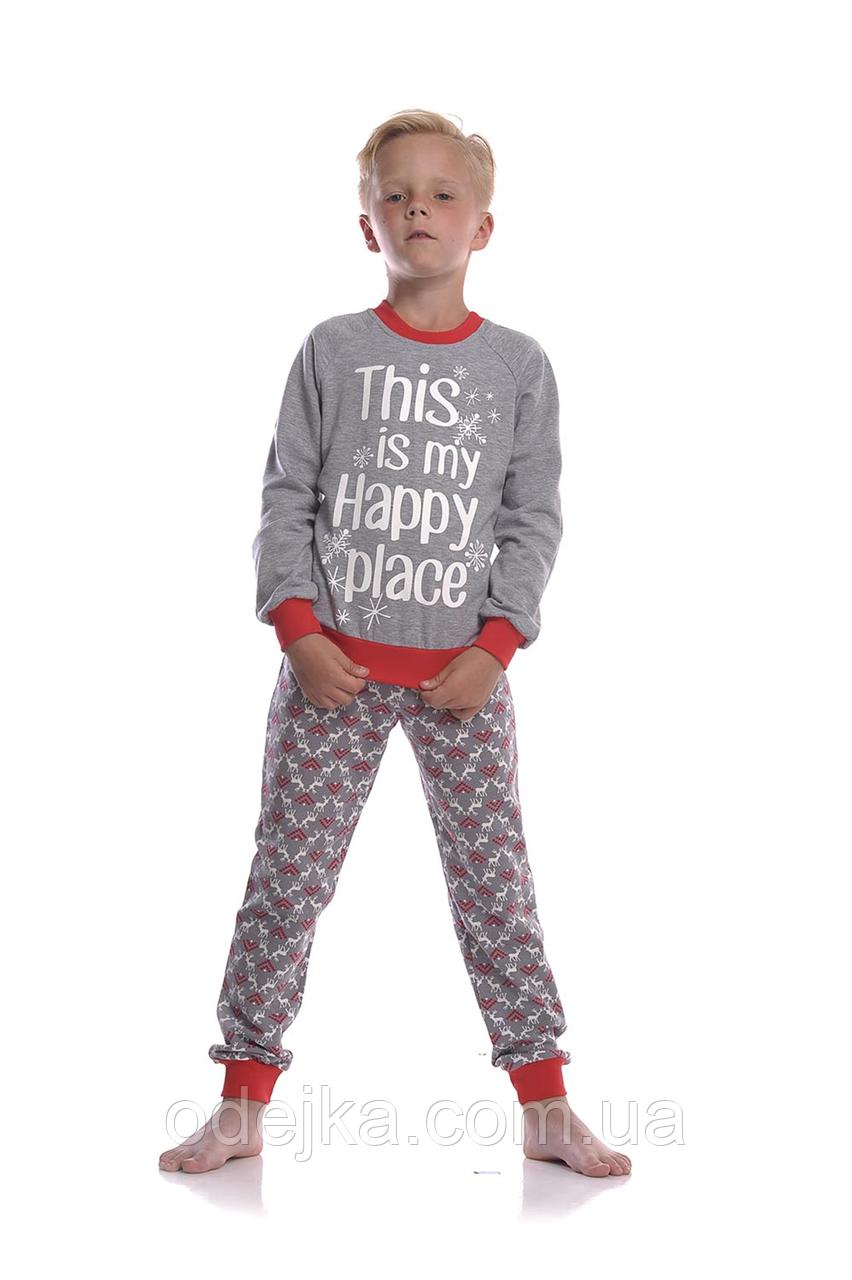 Пижама для мальчика  BNP 012/003 *(92-116)(ELLEN). Новинка осень-зима 2018