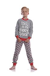 Піжама для хлопчика BNP 012/003 *(92-116)(ELLEN). Новинка осінь-зима 2018