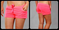 "Шорты ""Little shorts"" - трикотаж. Распродажа розовый, 40"